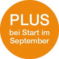 Plus bei Start im September