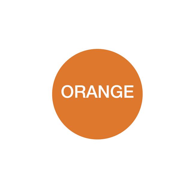 Ampelschaltung: orange