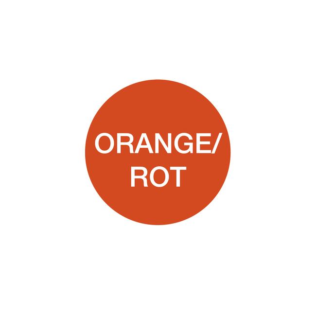 Ampelschaltung: orange/rot