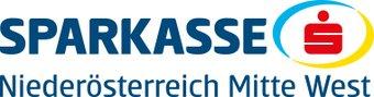 Logo Sparkasse NÖ Mitte West weiß