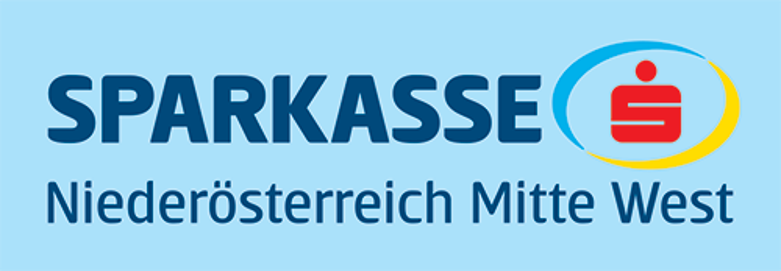 Logo Sparkasse NÖ Mitte West hellblau