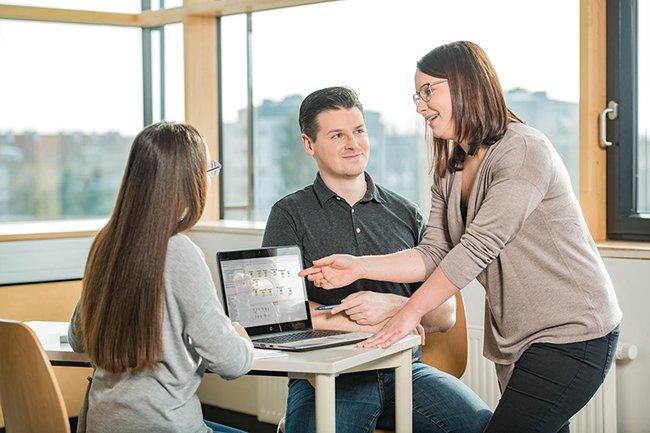 Data Science Studierende Tisch