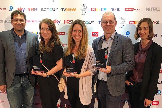 GewinnerInnen des iab webAD Award (c) FH St. Pölten / Harald Rametsteiner