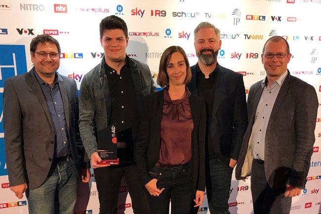 GewinnerInnen des iab webAD Awards Copyright: FH St. Pölten / Harald Rametsteiner