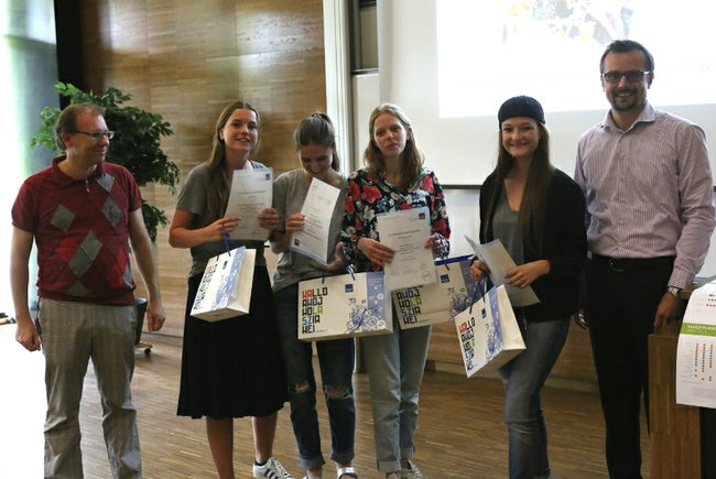 Summer School 15 Studierende aus Antwerpen