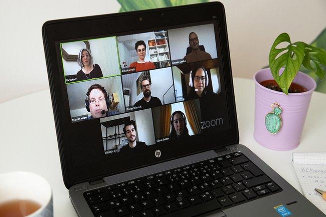 XChange Reality Bildschirm