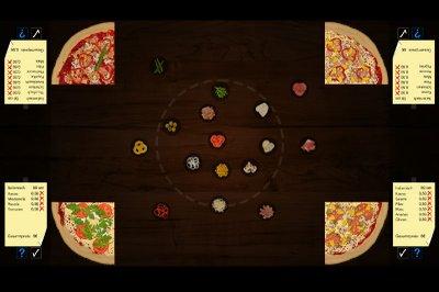 Pizza Pong - Screen