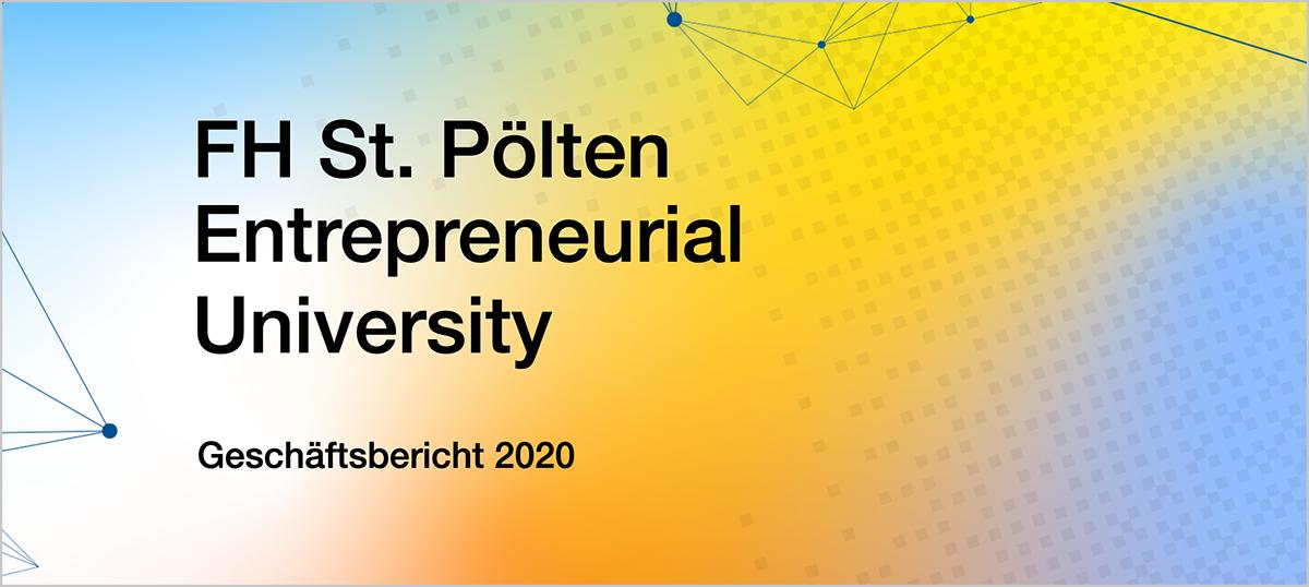Geschäftsbericht 2020 Entrepreneural University