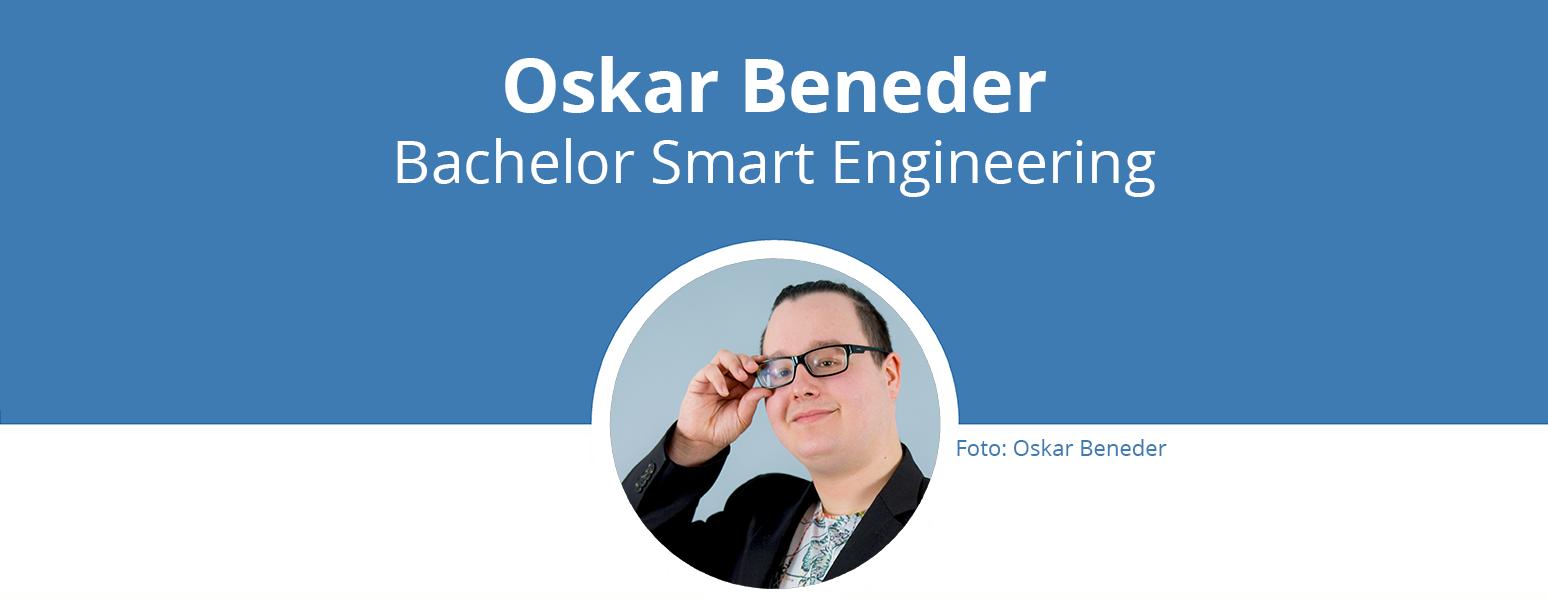 Titelbild: Oskar Berneder, Bachelor Smart Engineering