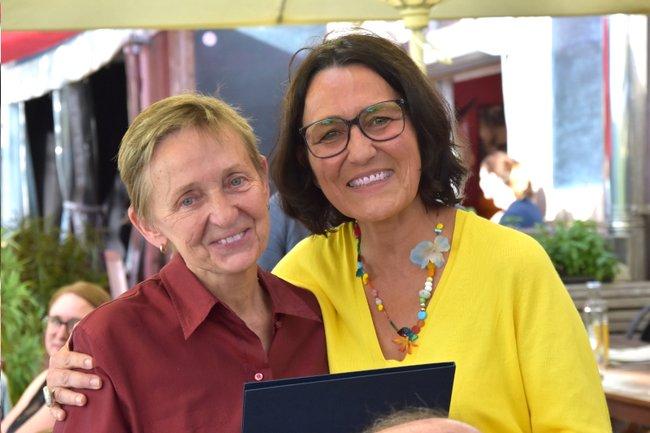 Monika Vyslouzil und Christine Haselbacher