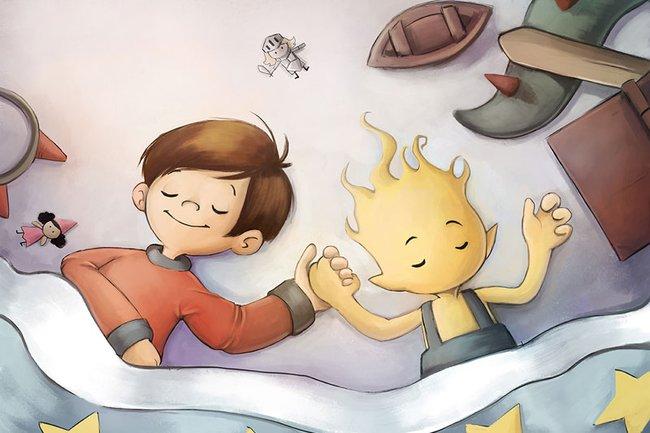 """Kinderbuch """"Der Kleine Traum"""""""