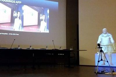 Thiemo Kastels Augmented Reality Trainingstool für SchauspielerInnen