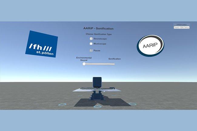 AARIP-Screenshot aus der App 3