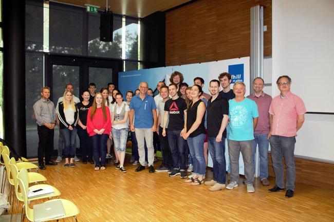 EPS-Projekt Gruppenfoto