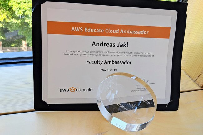 AWS Ambassador Status