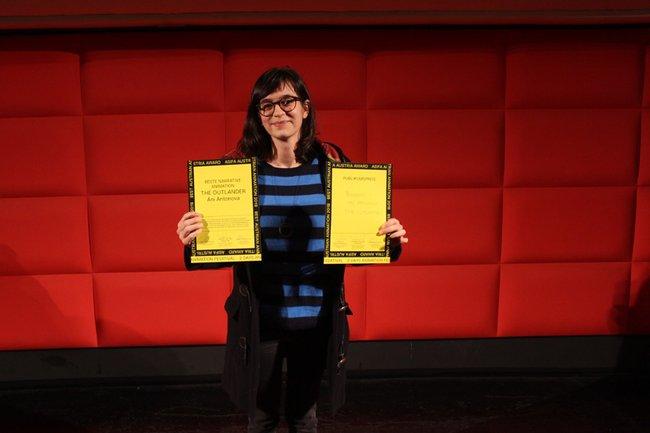 Ani Antonova Preisverleihung 2018