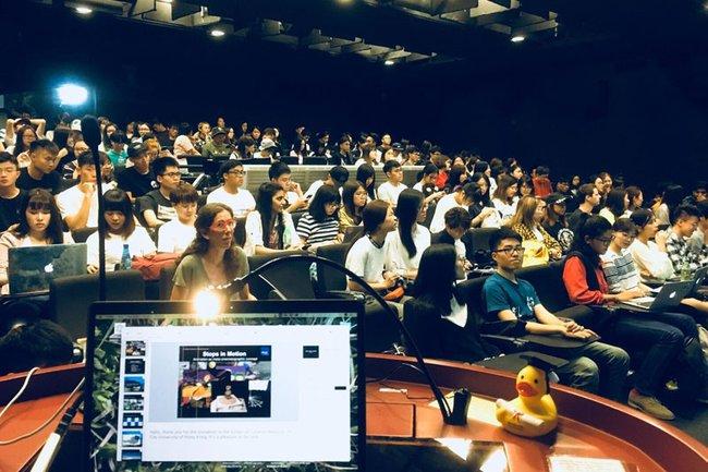 Hong Kong Vortrag