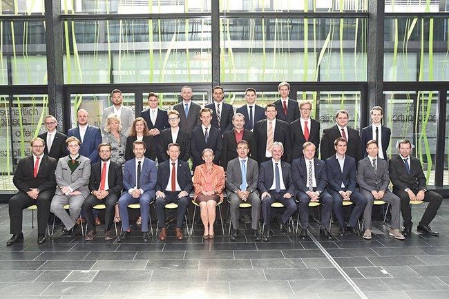 Sponsion Bachelor Bahntechnologie und Mobilität 09 2019