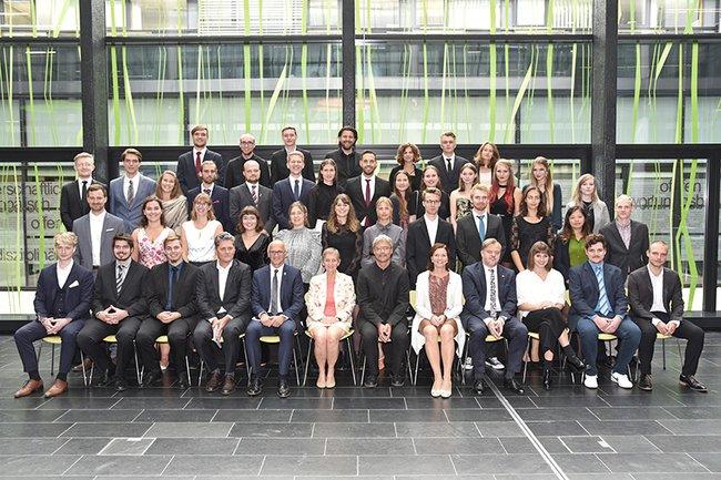 Sponsion Bachelor Medientechnik 09 2019