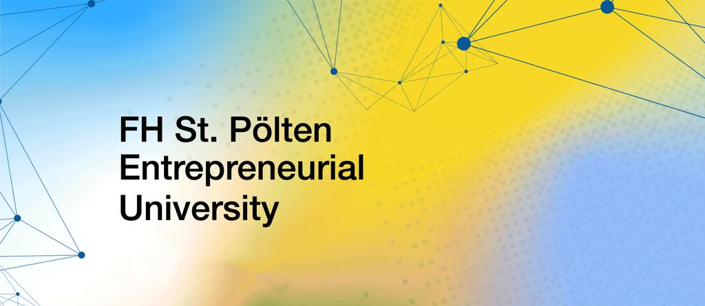 Geschäftsbericht 2020: Die FH St. Pölten als Entrepreneurial University
