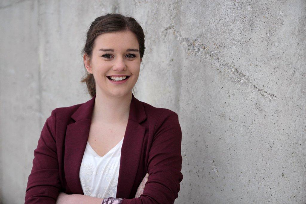 Elisabeth Haimberger, Absolventin des Studiengangs Marketing & Kommunikation an der FH St. Pölten