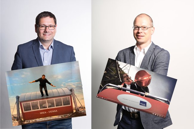 Helmut Kammerzelt und Harald Wimmer