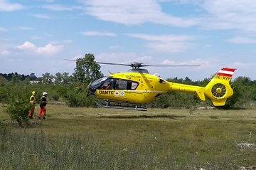 Hubschrauber der Flugrettung