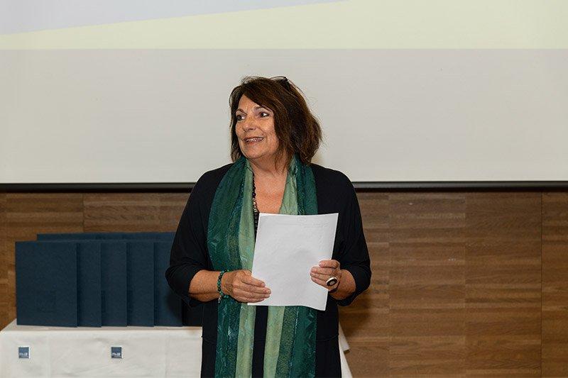 Lehrgangsleiterin Sabine Fichtinger