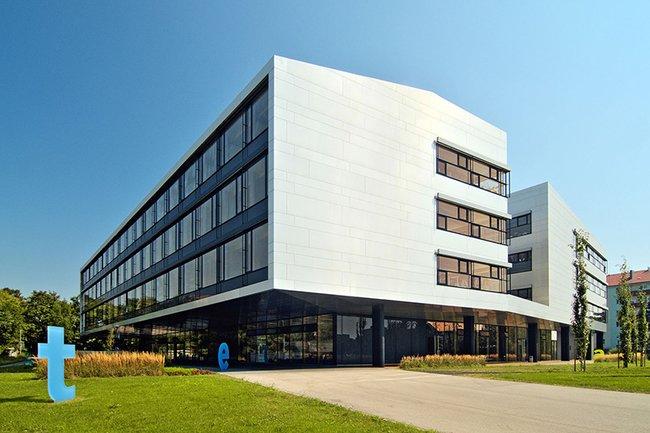 Ansicht der Fachhochschule St. Pölten