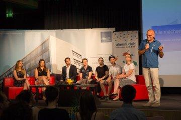 """Podiumsdiskussion """"Alle machen Karriere"""" thematisiert Zukunftsperspektiven der Studierenden"""