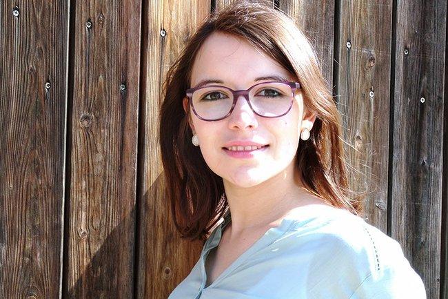 Martina Heigl, BSc ist Absolventin des Departments Gesundheit.
