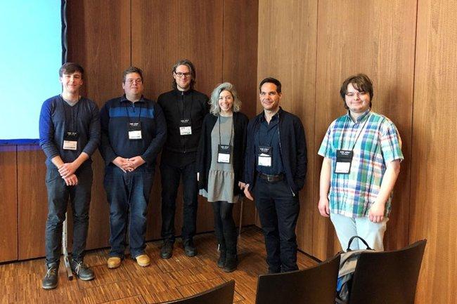 Franziska Bruckner und Thomas Moser beim ANIVAE Workshop in Reutlingen