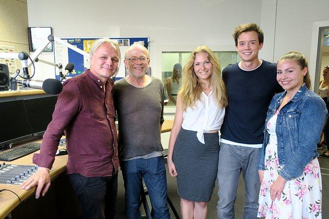 v. l. n. r.: Christan Gödrich, Ewald Volk, Isabelle Schmidt, Philipp Hansa, Anika Kisielewski
