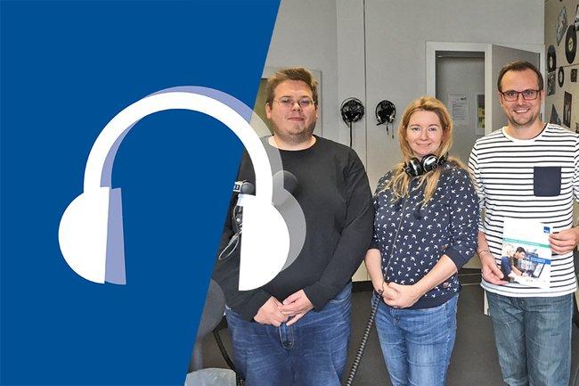 Franz Fidler und Thomas Moser zu Gast im Campus & City Radio