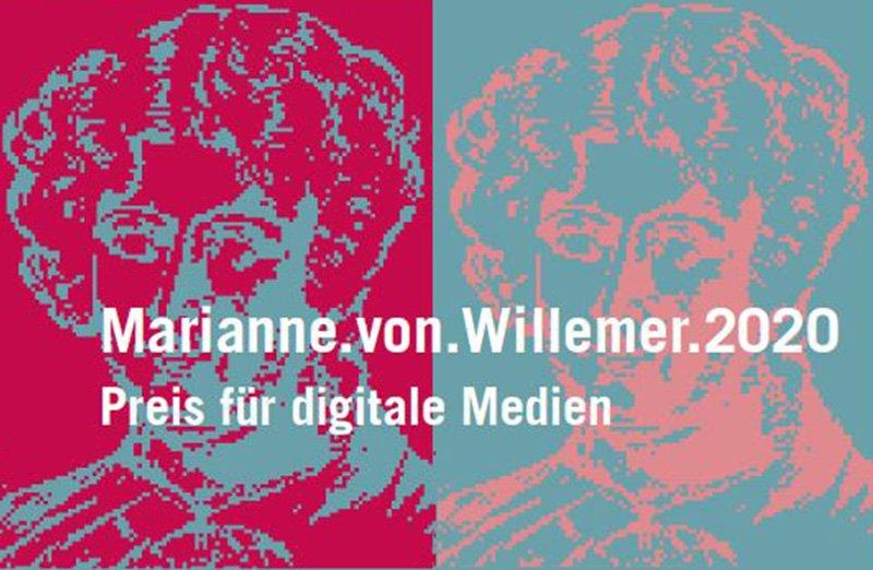 Marianne.von.Willemer Preis 2020 - Einreichungen bis 7. Juni 2020 möglich