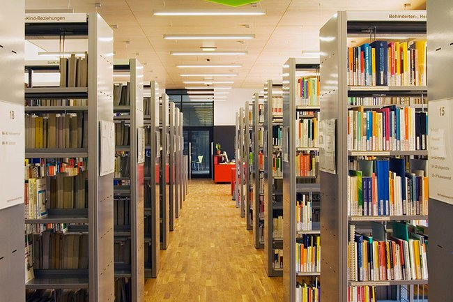 Bibliothek der FH St. Pölten