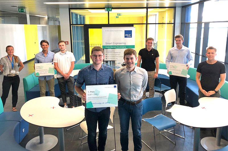 Die Siegerteams des Smart Engineering Awards 2019