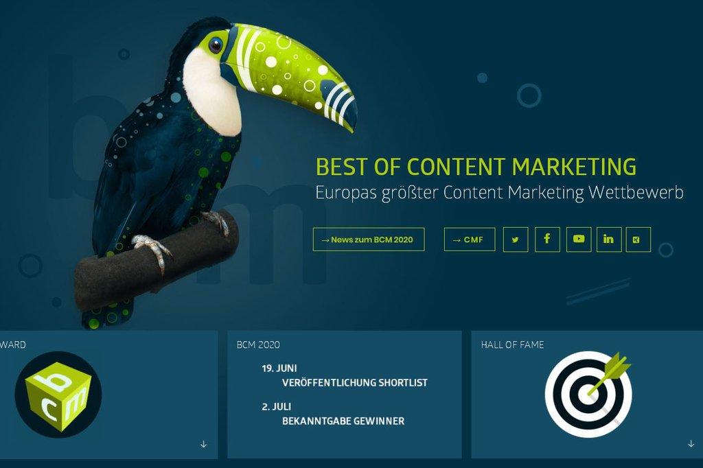 Website Best of Content Marketing