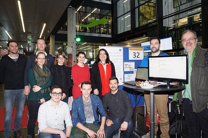 Projektteam aus Studierenden, Betreuerinnen und Betreuern