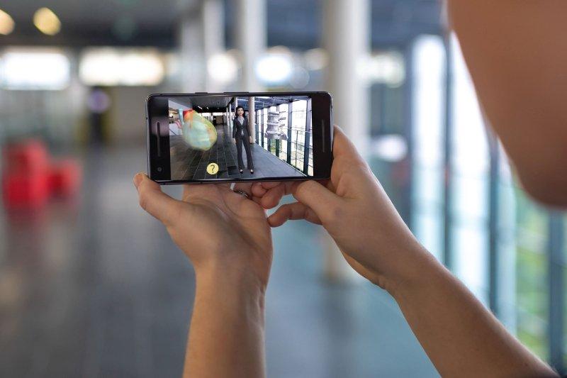 Die App Digital Healthcare Explained im Einsatz
