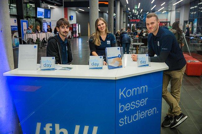 Der info.day gewährt Einblick in das gesamte Studien- und Weiterbildungsangebot der FH St. Pölten