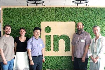 Besuch bei LinkedIn in Graz