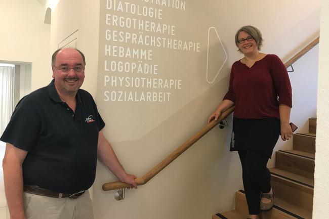 Christoph Redelsteiner und Sonja Geretschläger in Haslach an der Mühl