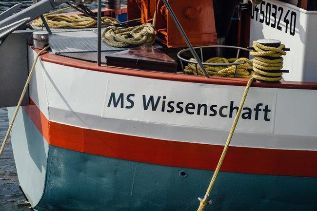 MS Wissenschaft | Copright: WiD / Ilja Hendel
