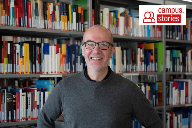 Christian Kieslinger ist Leiter der Bibliothek der FH St. Pölten.