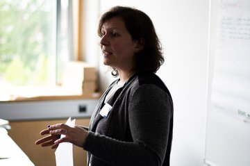 FH-Dozentin Christine Schmid