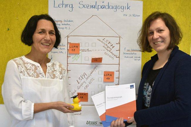 Christine Haselbacher und Christine Schmid