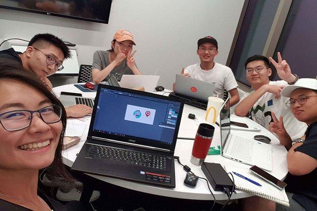 Masterstudentin Huang Chen belegte Summer School in Singapur
