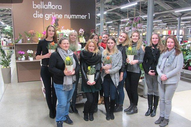 Studentinnen des Master Studiengangs Media- und Kommunikationsberatung entwickelten kreative Lösungen zur Kundenbindung für das renommierte Unternehmen Bellaflora.