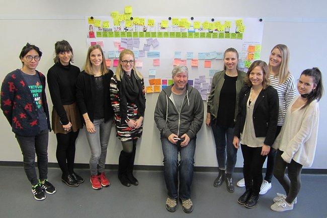 Philipp Weckerle (Oracle) präsentierte im Rahmen eines Gastvortrags im Master Studiengang Media- und Kommunikationsberatung den Prozess eines vielfach bewährten Customer Journey Mappings.